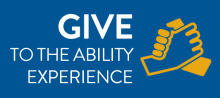 Click here to make a secure donation to The Ability Experience