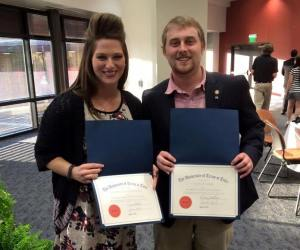 Taylor Kemp, 2015 'Fraternity man of the Year'