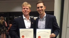 Pi Kappa Phi members receive 'Fraternity Man of the Year,' other honors from UT Tyler 1