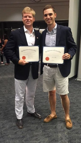 Pi Kappa Phi members receive 'Fraternity Man of the Year,' other honors from UT Tyler 2