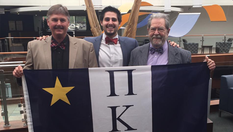 Three generations of one family represented in Theta Pi Chapter