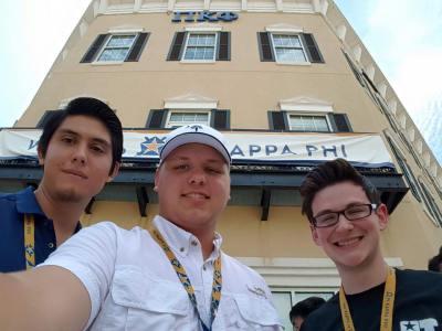 Three UT Tyler Pi Kappa Phi members selected for emerging leaders institute